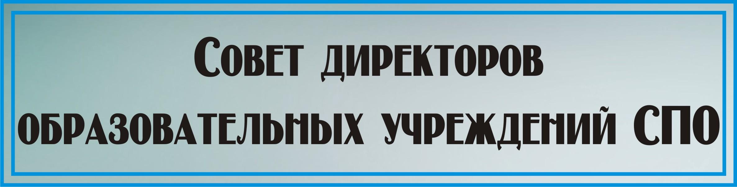 Совет директоров СПО